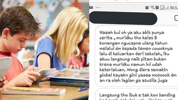 Viral Gara-gara Ucapkan Ultah ke Teman Pria, Siswi SMP Solo di-DO, Guru Les Ngadu ke Nadiem Makarim