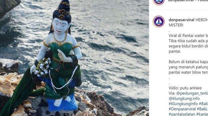 Pengakuan Warga yang Simpan Patung Nyi Roro Kidul di Bali, Bilang Dapat Bisikan