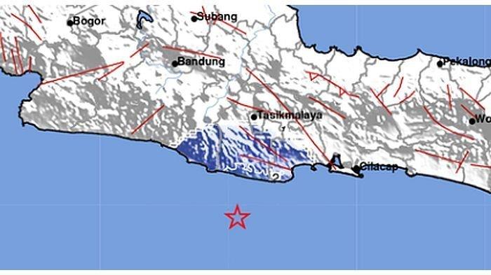Gempa Bumi Magnitudo 4,8 Guncang Tasikmalaya, Terasa hingga Cianjur, Tidak Berpotensi Tsunami