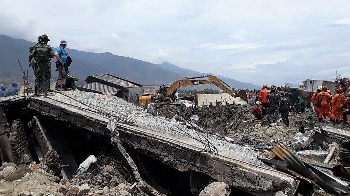 300 Jenazah Dievakuasi di Perumnas Balaroa Sulteng