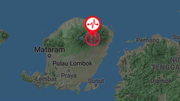 Gempa Magnitudo 5,3 Kembali Guncang Lombok Dini Hari Tadi, Warga Terbangun dan Lari Berhamburan