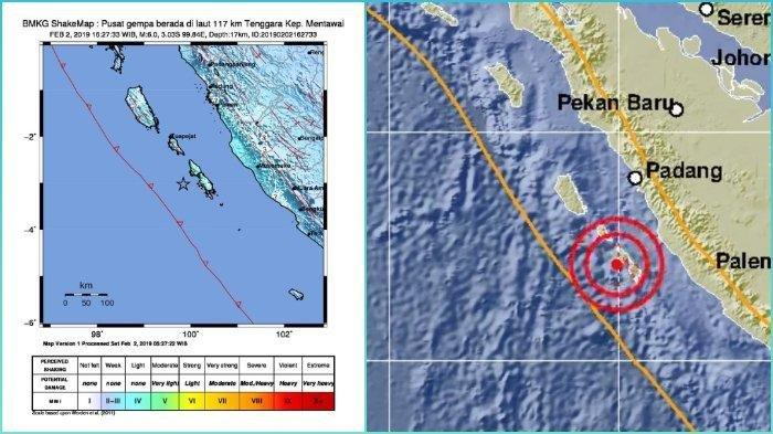Update Gempa Mentawai dan Padang, Video Kepanikan Warga dan Tamu Hotel Berhamburan Keluar