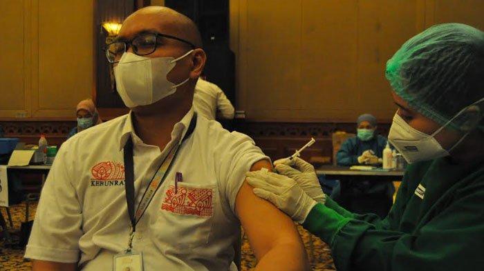 Pengelola dan Karyawan Tempat Wisata di Kota Bogor Jalani Vaksinasi Covid-19