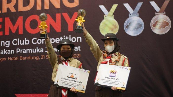 Pramuka Kota Bogor Sabet 2 Juara Terbaik Cloud Computing Club Competition Kwarda Jabar