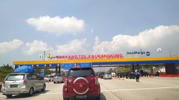 Arus Balik Mudik, One Way Kalikangkung-Cikampek Diperpanjang Hingga Pukul 24.00