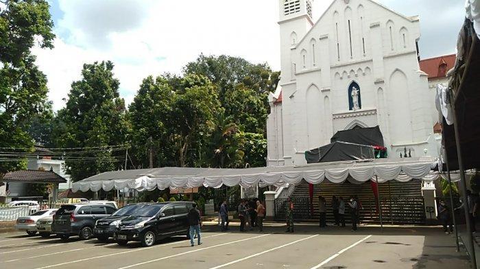 Terapkan Protokol Kesehatan, Ibadah Natal di Gereja Katedral Bogor Kuotanya Dibatasi