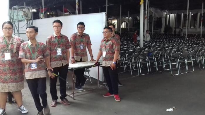 Organisasi Lintas Agama Ikut Mengamankan Misa Natal di Gereja Katedral Bogor