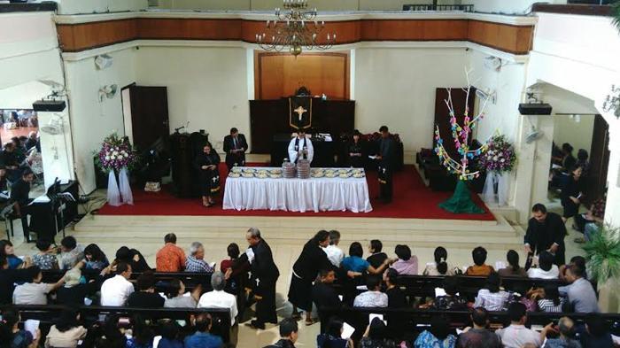 Perayaan Jumat Agung di Bogor Berjalan Khidmat, Gereja Dijaga Ketat Polisi