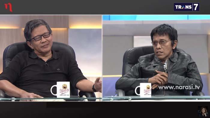 Rocky Gerung Kritik Keras hingga Sebut Jokowi Sedang Mengeluh, Balasan Adian Menohok: Salah Berpikir