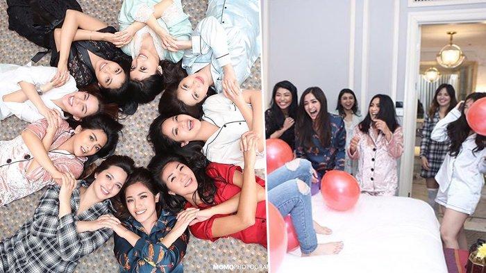 Beda dengan Nindy, Para Artis Cantik Ini Malah Dipuji Netizen Saat Pakai Piyama Di Ultah Temannya