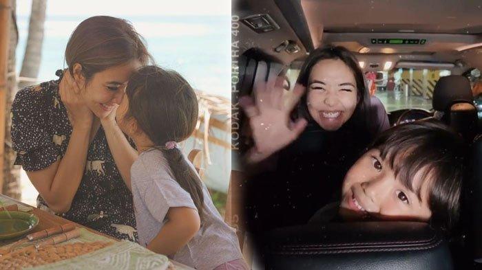 Jemput Gempi di Bandara, Gisel Dapat Ciuman Mesra dari Putri Gading Marten : Kangen Banget Mama