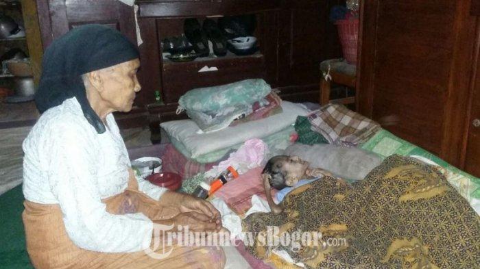 Menyedihkan, Nenek Miskin Ini Tak Mampu Obati Cucu yang Tubuhnya Tinggal Tulang