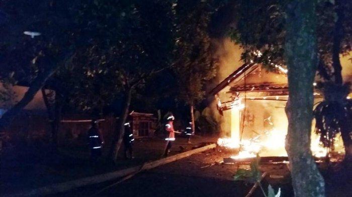 Kantornya Dibakar, Ketua GMBI Kabupaten Bogor Tuntut Ganti Rugi
