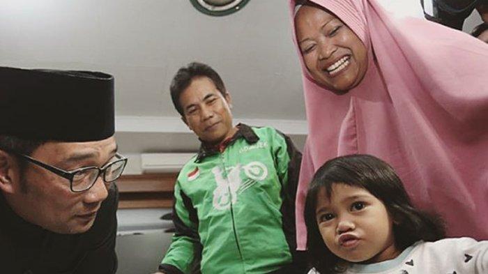 Diundang ke Bandung, Akun IG Anak Driver Ojek Online Ini Di-folback Ridwan Kamil