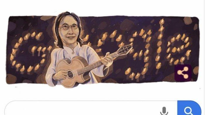 Google Doodle Hari Ini - Ulang Tahun Chrisye ke 70