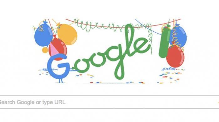 'Google Birthday' Jadi Doodle Hari Ini, Berikut 5 Fakta Ulang Tahun Google
