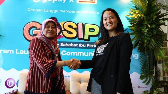 GoPay dan Alfamart Luncurkan Gosip, Ibu-ibu Bisa Bebas Belanja Namun Tetap Hemat