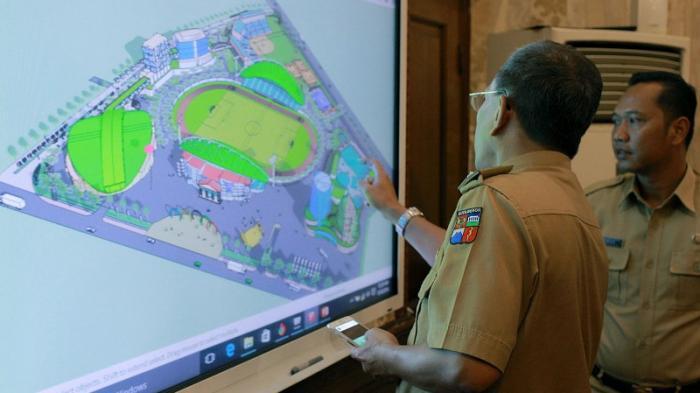 GOR Pajajaran Bogor Direnovasi, Bakal Disiapkan Pusat Kuliner