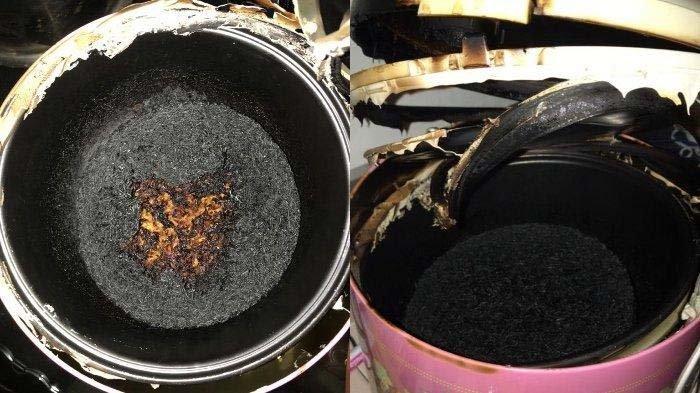 Video TikTok Masak Nasi hingga Gosong Viral, Perekam Syok Lihat Asap Mengepul : Takut Rumah Kebakar