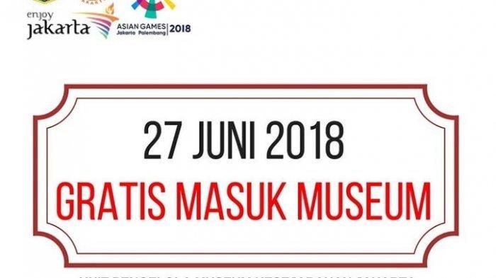 Hari Libur Pilkada, 4 Museum di Jakarta Ini Gratiskan Biaya Masuk