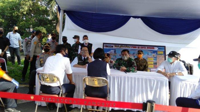 Hari Pertama PSBB di Bogor, Ridwan Kamil Sebut Kendaraan di Tol Jagorawi Berkurang 50 Persen