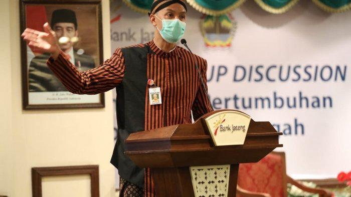Genjot UMKM Ditengah Pandemi Covid-19, Ganjar Pranowo Gandeng Bank Jateng dan PT BKK Jateng