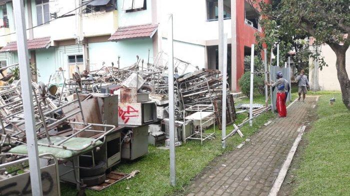 Kota Bogor Darurat Covid, Gudang di RSUD Disulap Jadi Ruang Isolasi Pasien Covid-19