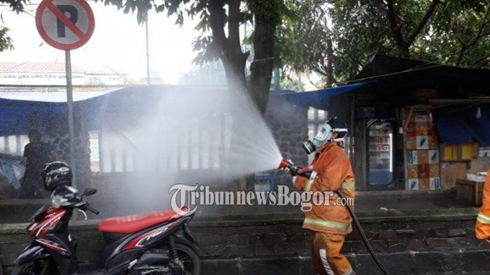 BREAKING NEWS - Cegah Corona, Gugus Tugas Siaga Covid-19 Kota Bogor Lakukan Sterilisasi
