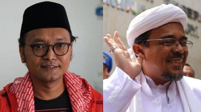 Sebut Rizieq Shihab Mestinya Bersyukur Tinggal di Mekkah, Guntur Romli : Ngapain Pulang ?