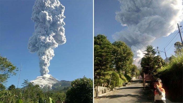 Gunung Merapi Kembali Meletus Pagi Ini, Kepulan Abu Vulkanik Hingga 6000 Meter
