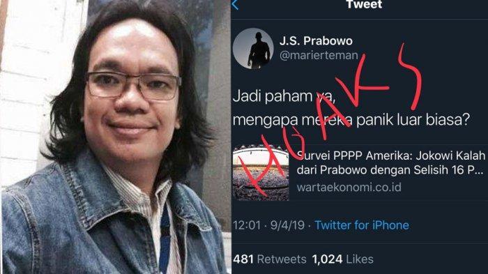 Gerindra Klaim Prabowo Menang 16 Persen dari Jokowi di Survei Amerika, Gus Nadir : Hoaks Abal-abal