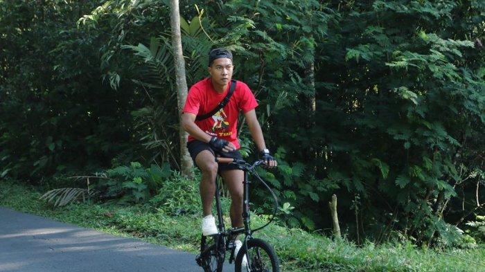 Cerita Gustur Cahyo Putro Membawa Sepeda dari Magelang ke Bogor