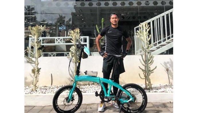 Bersepeda Demi Jaga Kebugaran, Gustur Cahyo Cerita Alami Kejadian Tak Terduga saat Keliling Magelang