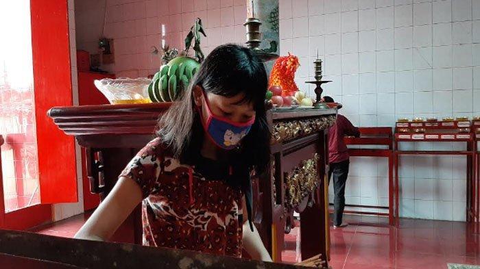 H-1 Imlek, Ini Persiapan di Kelenteng Hok Tek Bio Ciampea Bogor