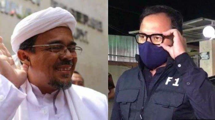 Detik-detik Habib Rizieq Shihab Marah di Persidangan Kasus RS Ummi, Tuding Bima Arya Bohong