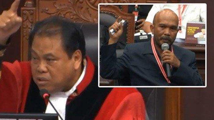 Izin ke Ketua Mahkamah Konstitusi, Hakim MK : Saya Tertular Pak Idam