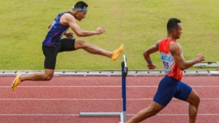 Atlet Atletik Kabupaten Bogor Sumbang Emas untuk Jawa Barat, Ukir Rekor Tercepat di PON Papua
