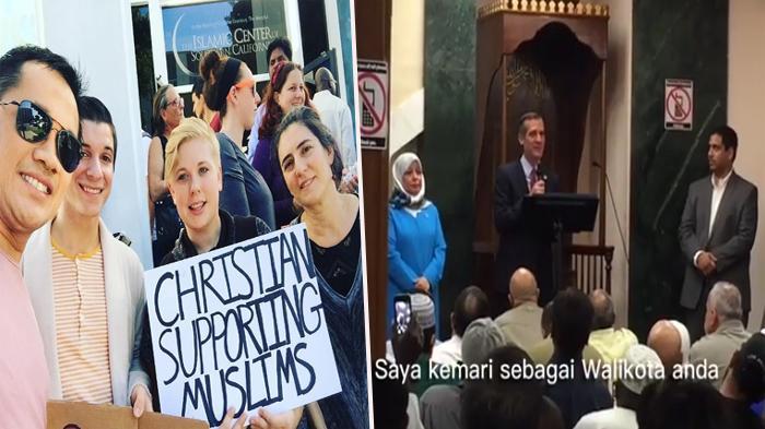 Hanung Bramantyo Posting Pidato Wali Kota Los Angeles di Masjid, Netizen Merinding Lihatnya