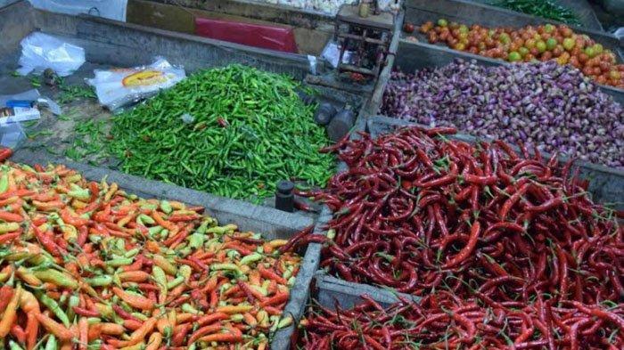 Daftar Harga Cabe dan Sayuran di Pasar Perumda Pasar Pakuan Jaya Bogor, Cek di Sini