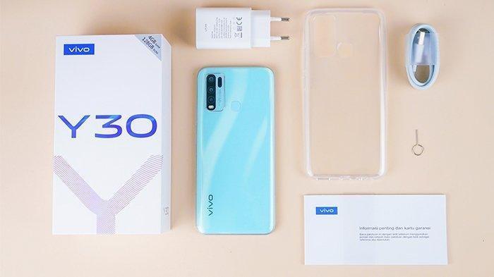 Harga Hp Vivo Y30 Baterai 5000mAh - Spesifikasi Lengkap Lihat di Sini!
