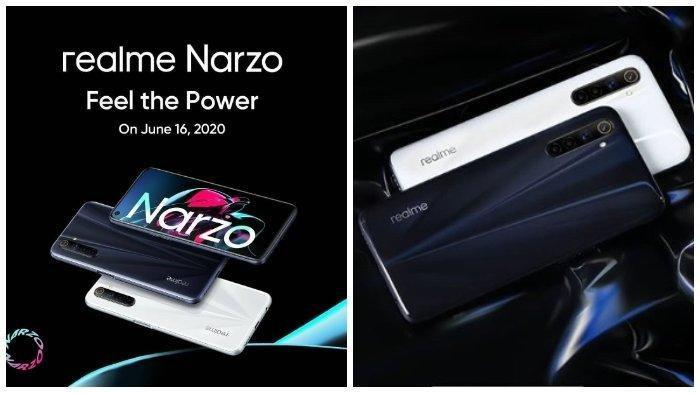 Harga Smartphone - Spesifikasi Lengkap Realme Narzo Dibekali Baterai 4.300 mAh