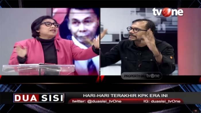 Haris Azhar Kritik Penyadapan di KPK Harus Izin Dewas, Irma Chaniago Protes : Haris Lebay Betul !