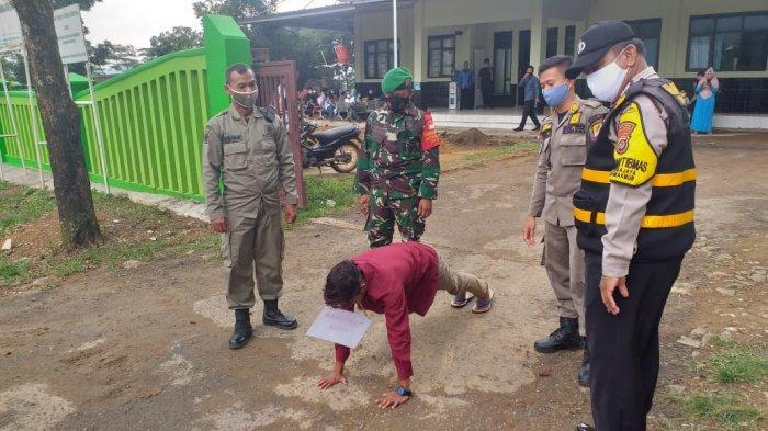 Hari Ke-7 PPKM di Kabupaten Bogor, Aparat Gabungan Jaring 2.445 Pelanggar Protokol Kesehatan
