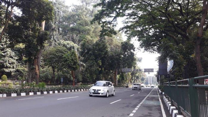 Hari Pertama Idul Adha, Jalanan di Pusat Kota Bogor Terpantau Lengang