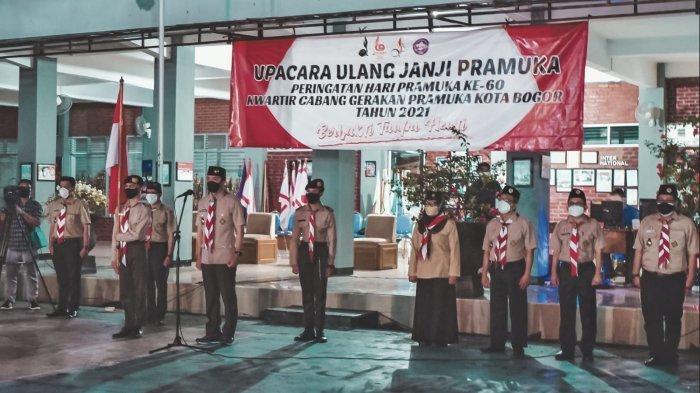 Hari Pramuka ke-60, Dedie A Rachim Pimpin Upacara Ulang Janji Pramuka