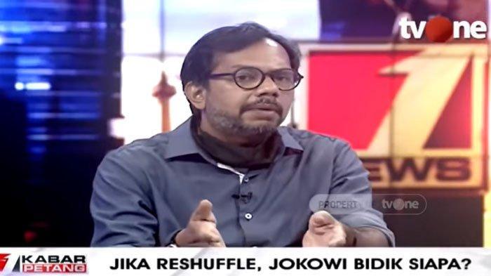 Jokowi Ancam Reshuffle Menterinya, Haris Azhar : Itu Hanya Sekedar Ancaman
