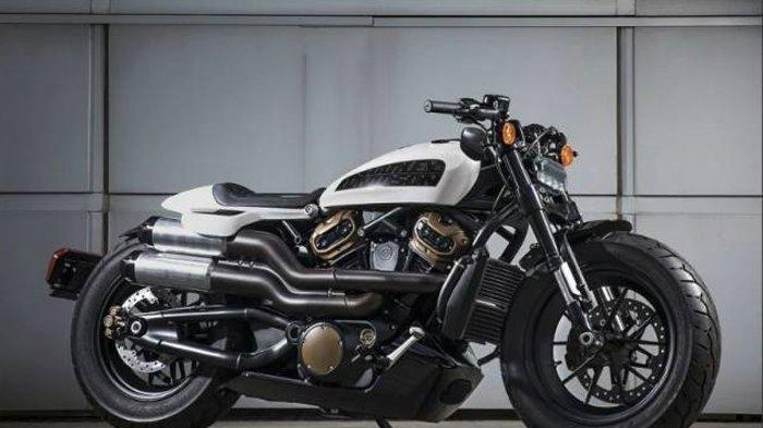 Bakal Dirilis Tahun 2021, Intip Tampang Gahar Harley Davidson Custom 1250