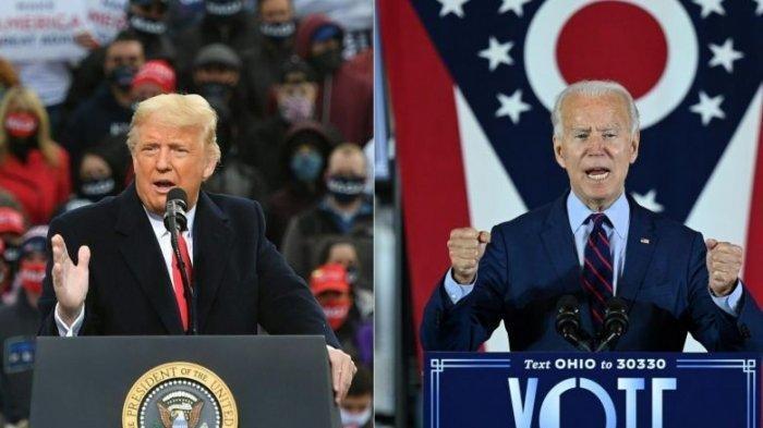 hasil sementara pilpres AS, Joe Biden cuma butuh 6 sauara lagi untuk jadi presiden, begini nasib Trump