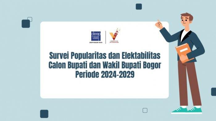 Hasil Survei Elektabilitas Calon Bupati Bogor 2024-2029, Jaro Ade Kalah Populer dari Ade Yasin