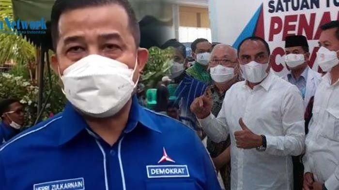 Ketua DPD Ancam Bubarkan KLB Partai Demokrat, Edy Rahmayadi Bereaksi : Kalau Tak Ada Izin, Usir Itu
